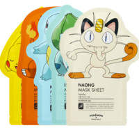 [TONYMOLY] Pokemon Sheet Mask SET (5Sheets)