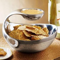 Scoop Chip and Dip Server by Nambe from Neiman Marcus