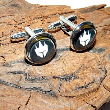 Reinhardt overwatch logo cufflinks, Reinhardt Overwatch simbol, Reinhardt patch, Reinhardt emblem, gamer cufflinks, video game Overwatch