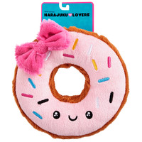 Harajuku Lovers Kawaii Donut Plush Squeaky Dog Toy