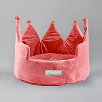 Crown Dog Cat Bed by Nandog - On Sale!
