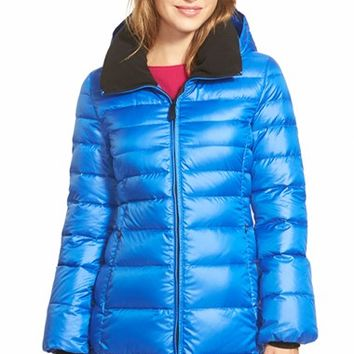 Women's Marc New York 'Eva' Down Coat with Detachable Hood ,