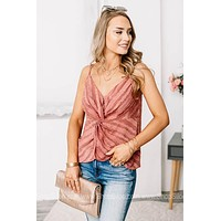 Knot That Simple Sleeveless Top