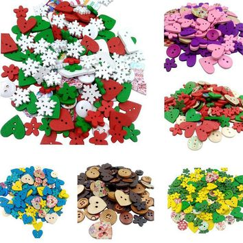Pack Of Wooden Buttons