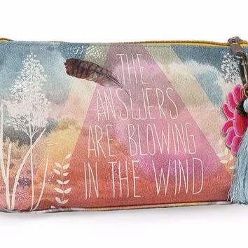 Answers Small Tassel Pouch
