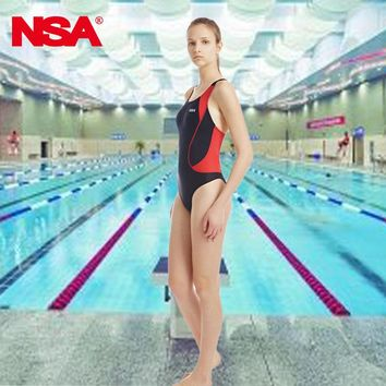NSA swimsuit female swimwear swimming women swimsuits racing competition competitive swim suit training professional