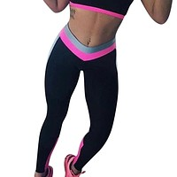 Women High Waist Sports Gym Yoga Running Fitness Leggings Pants Workout Clothes