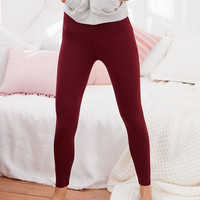 Aerie PLAY Real Me High Waisted 7/8 Legging, Burgundy Ivy