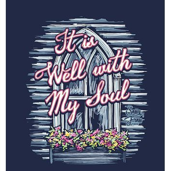 Sassy Frass It is Well With My Soul Church Bright Girlie T Shirt