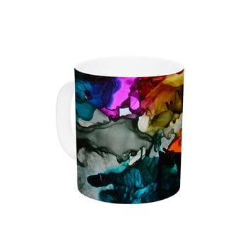 "Claire Day ""Hippie Love Child"" Ceramic Coffee Mug"