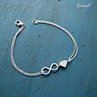 GET @ErunerInfinity Alloy Sister Friendship Bracelet Bridesmaid Gift