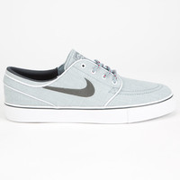 Nike Sb Stefan Janoski Canvas Boys Shoes Dove Grey/ Anthracite Gym Red  In Sizes