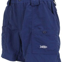 Fishing Shorts in Navy by AFTCO
