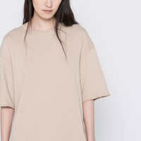SHORT SLEEVE PIPED SEAM SWEATSHIRT - NEW PRODUCTS - NEW PRODUCTS - PULL&BEAR Slovenia