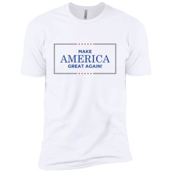 Make America Great Again 2 NL3600 Next Level Premium Short Sleeve T-Shirt