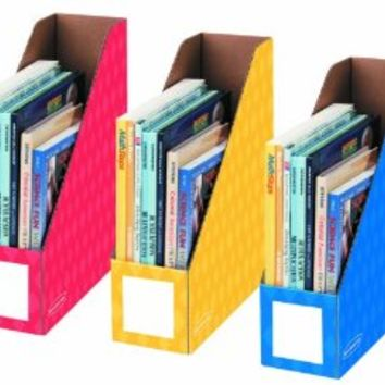 Fellowes 3-Pack Magazine File Holders