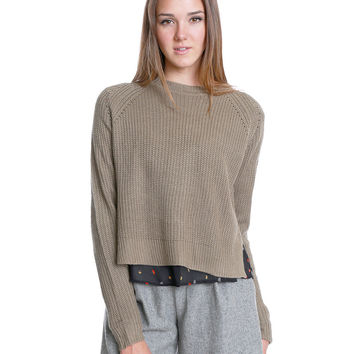 Everyday Life Knit Crop Top