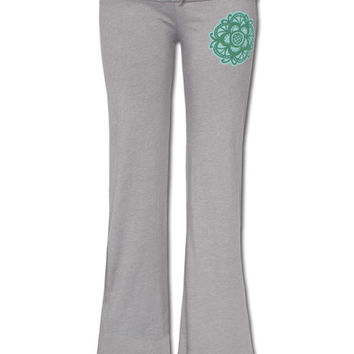 Organic Cotton Yoga Pants: Soul Flower Clothing