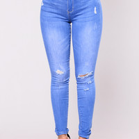 Fire Walk Jeans - Blue