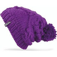 DAKINE Women's Beverly Tall Cable Beanie with Pom