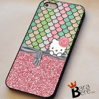 Hello kitty beautifull iPhone 4s iphone 5 iphone 5s iphone 6 case, Samsung s3 samsung s4 samsung s5 note 3 note 4 case, iPod 4 5 Case