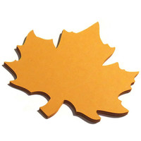 25 Large Maple Leaves - Fall Wedding Decorations - Custom Die Cuts