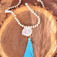 A Faithful Believer Necklace - White