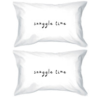 Snuggle Time Pillowcases - Bold Statement Pillow Covers