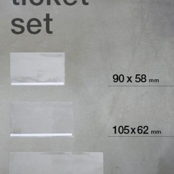 Ticket Pocket Set