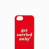 get carried away iphone 5 case