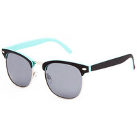 Blue Crown Stinger Club Sunglasses Black/Turquoise One Size For Men 23655693501