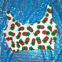 SWEET LORD O'MIGHTY! Pineapple Bralet