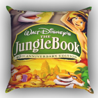 The Jungle Book Z0963 Zippered Pillows  Covers 16x16, 18x18, 20x20 Inches