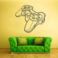 Wall Decal Vinyl Sticker Decals Gaming Time xbox 360 ps3 Game ps2 Controller (z2028)