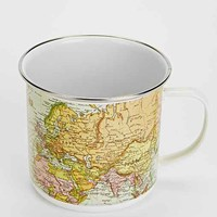 Enamel Map Mug- Multi One