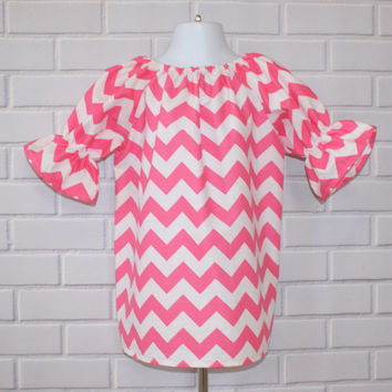 3T Chevron Christmas Toddler Dress SALE Ready To Ship Boutique Clothing By Lucky Lizzy's