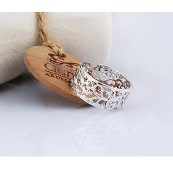 Sterling Silver Adjustable Tree Ring