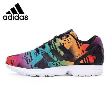 ESB9N Original New Arrival Adidas Originals ZX FLUX Unisex's Skateboarding Shoes Sneakers