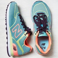 New Balance 574 Sneaker, Blue | American Eagle Outfitters