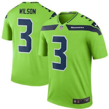 Mens Seattle Seahawks Russell Wilson Nike White Game Jersey