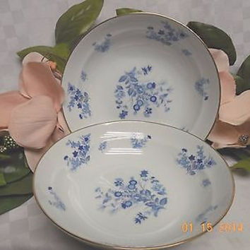 Mikasa China Dinnerware Westwind Pattern # L1008 in blue set 2 & Shop Mikasa China on Wanelo