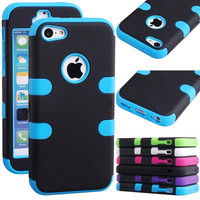 beautiful Classical Simple Hybrid Rugged Rubber Matte Hard Case Cover For iPhone 5C = 1958032004