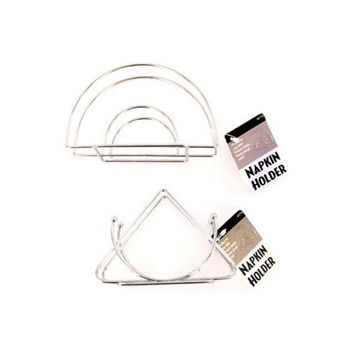 Metal Napkin Holder (assorted Styles) (pack of 24)