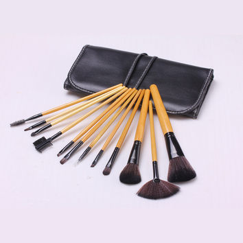 12-pcs Make-up Brush Fashion Tools Make-up Brush Set [4918378180]