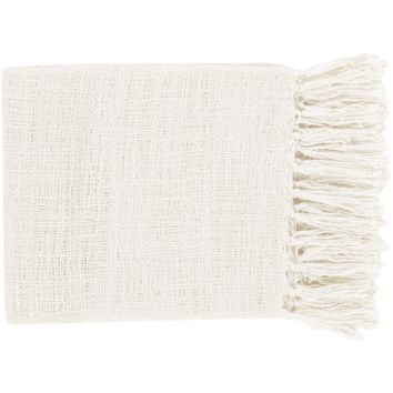 Tilda Throw ~ White
