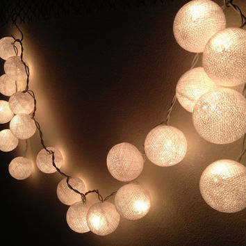 Spice Up your party with String Lights Cotton Ball