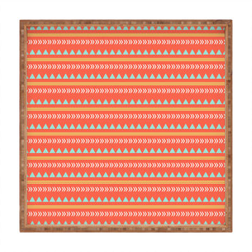 Allyson Johnson Native Aztec Square Tray