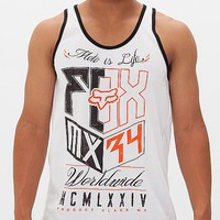 Fox Rust Inhale Tank Top