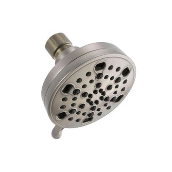 Delta 5 Spray H20Kinetic Shower Head in Brushed Nickel, 75559SN
