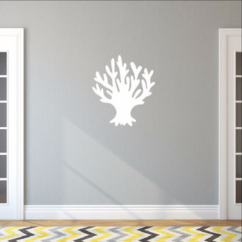 Sea Coral Style B Vinyl Wall Decal 22571